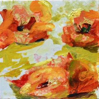 """""""Sun 1,"""" Oil Painting on Canvas"""