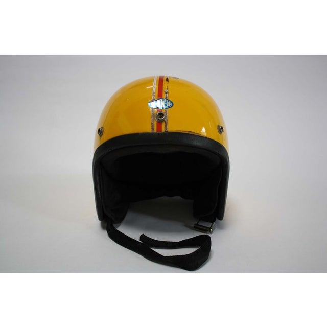 1970s Japanese Motorcycle Helmet - Image 4 of 8