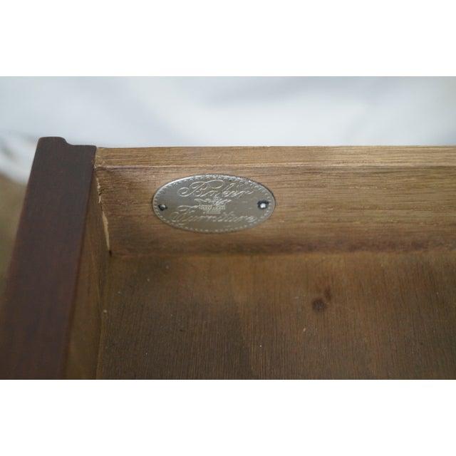Image of Baker Vintage Walnut Regency Directoire End Table