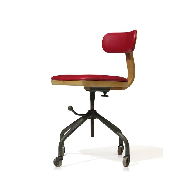 1931 Jorgen Rasmussen for Fritz Hansen Office Chair - Image 7 of 9