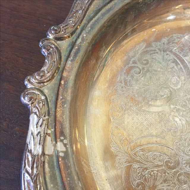 Image of Silver Plated Dish