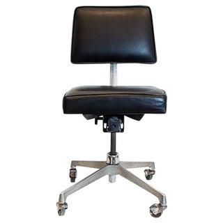 Mid-Century Cast Aluminum Task Chair C. 1960