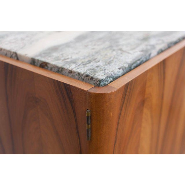 Walnut and Marble Credenza by Jos De Mey - Image 4 of 11