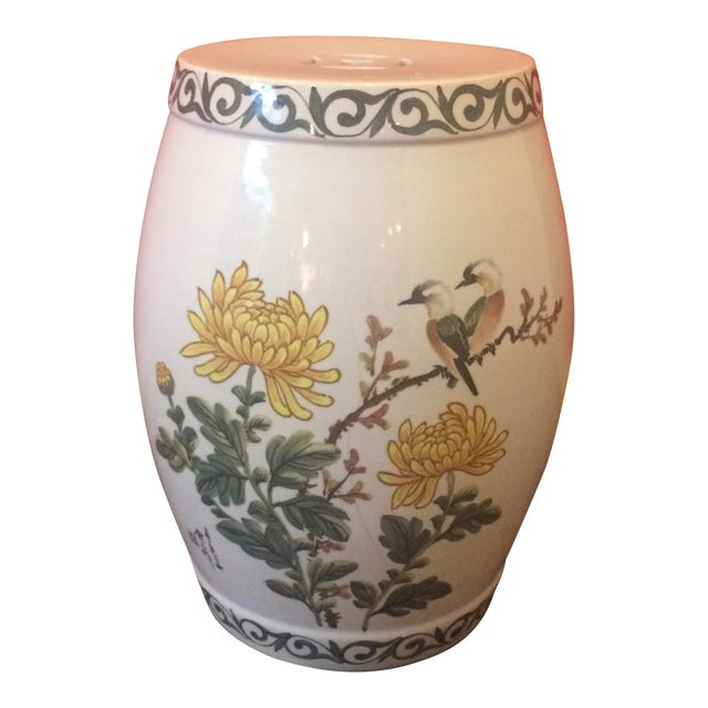 Chinoiserie Garden Stool - Image 1 of 9