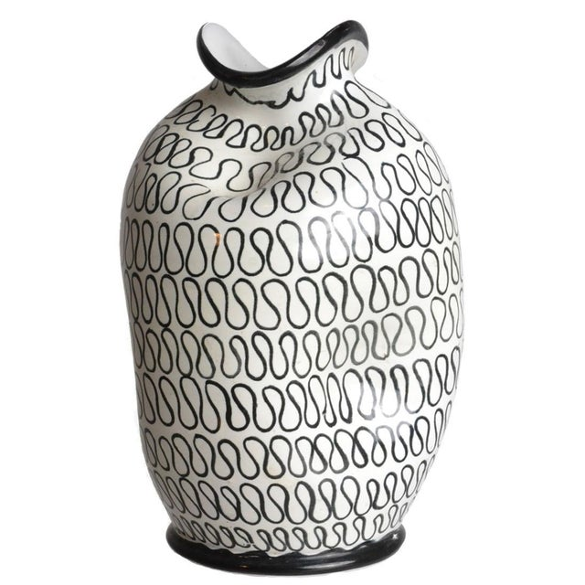 Italian Pottery Pinch Vase - Image 1 of 5