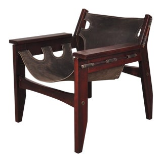 """Kilin"" Easy Chair by Sergio Rodrigues, Brazil, 1973"