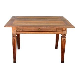 Late 18th Century Italian Neoclassical Fruitwood Table