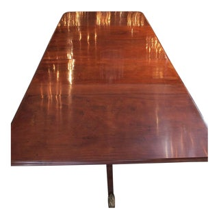 Antique English Mahogany Dining Table