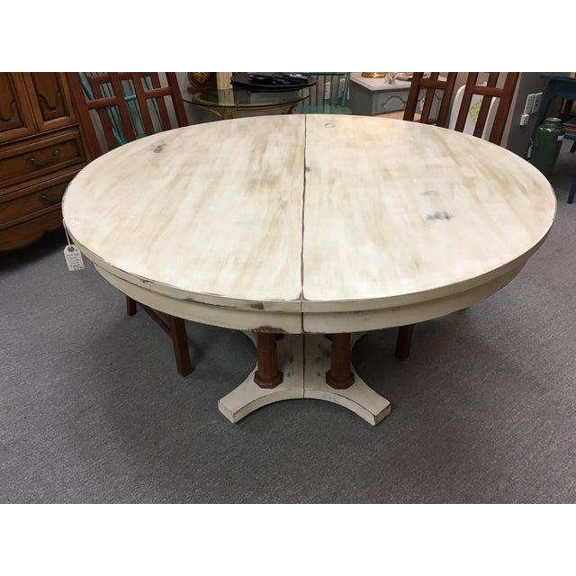 Expandable Round Farm Table - Image 3 of 6