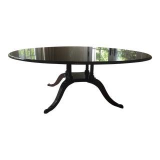 Traditional Mahogany Dining Table
