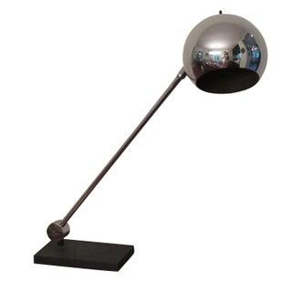 60s Sonneman Chrome & Steel Articulated Lamp