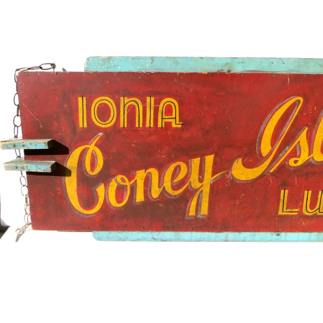 Coney Island Diner Sign - Image 4 of 5