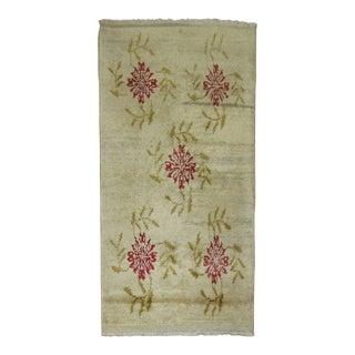 Vintage Turkish Floral Scatter Rug - 2'8'' x 4'4''