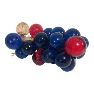 Vintage Lucite Grapes