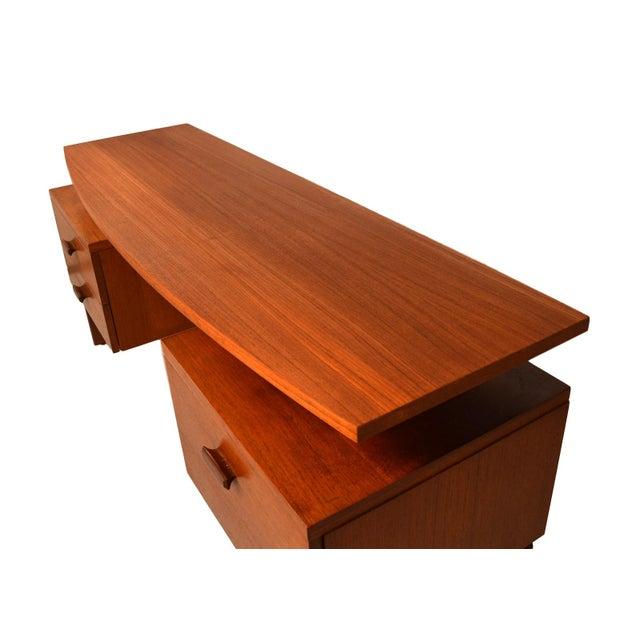 G Plan Mid-Century Danish Modern Teak Desk - Image 7 of 7