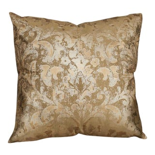 Custom 20″ x 20″ Pillow Made From 100% Silk Dupioni