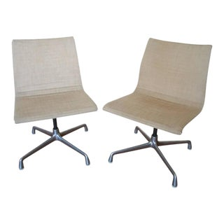 Pair of Eames Swivel Chairs