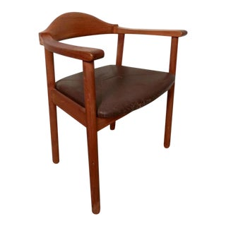Hans Wegner Inspired Mid-Century Arm Chair