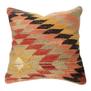 Vintage Hand Woven Kilim Square Pillow