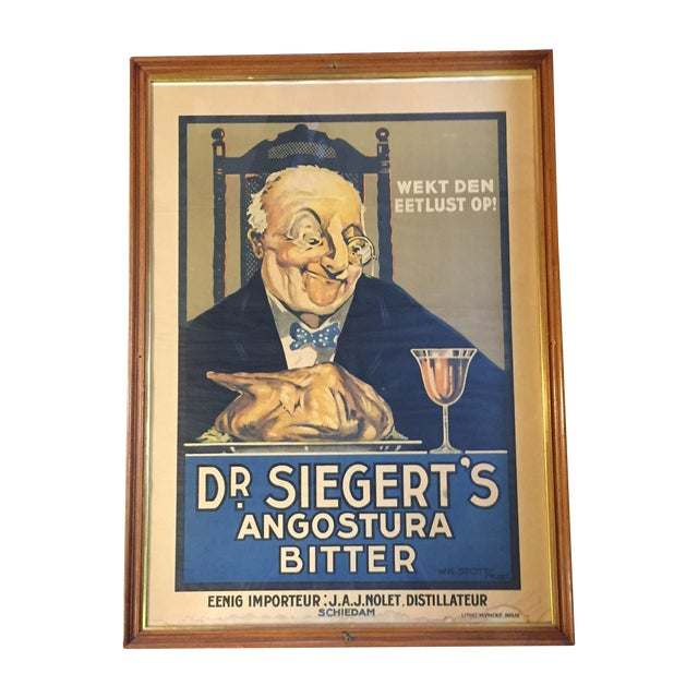Antique German Advertising 19th C. Print - Image 1 of 8
