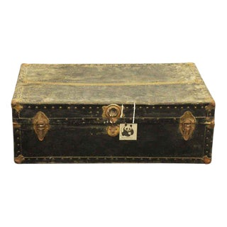 Old Fashioned Travel Trunk