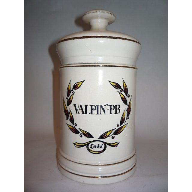 Vintage Valpin Apothecary Jar - Image 2 of 6