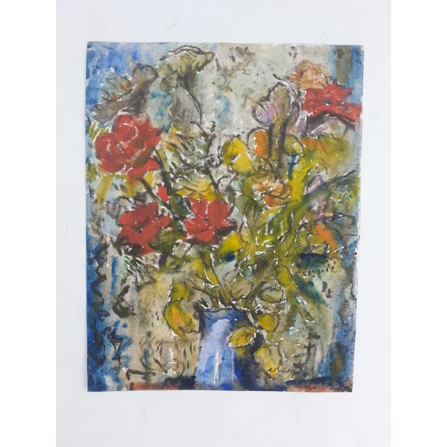 Wildflower Watercolor by A. Prust - Image 2 of 2