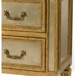 Image of Silvered & Gilt Mirrored Chest