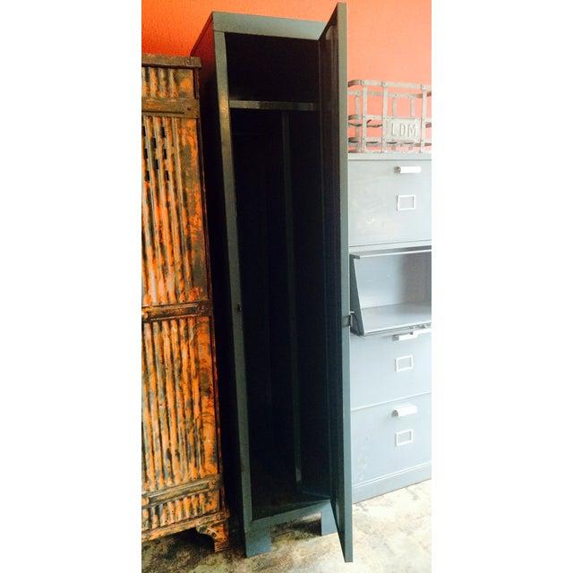 French Vintage 1 Door Locker - Image 4 of 7