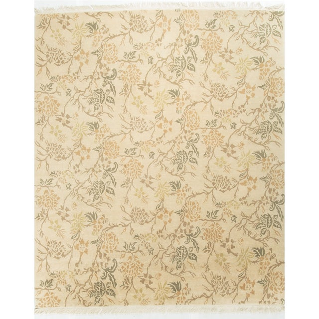 Contemporary Hand Knotted Wool Rug - 7′10″ × 9′9″ - Image 1 of 4