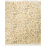 Image of Contemporary Hand Knotted Wool Rug - 7′10″ × 9′9″
