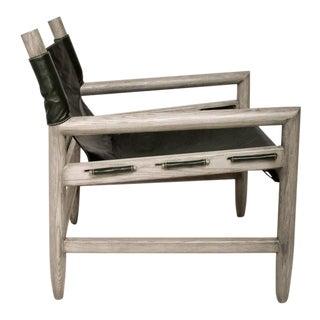 Mid Century Modern Pair of Safari Lounge Chairs