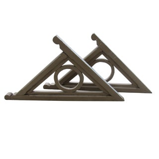 Large Architectural Wall Brackets - Pair