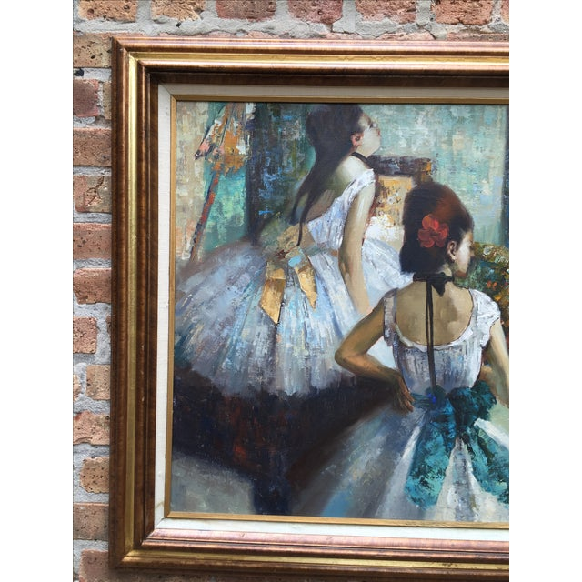 "Edgar Degas ""The Dance Class"" Reproduction - Image 3 of 11"