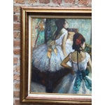 "Image of Edgar Degas ""The Dance Class"" Reproduction"