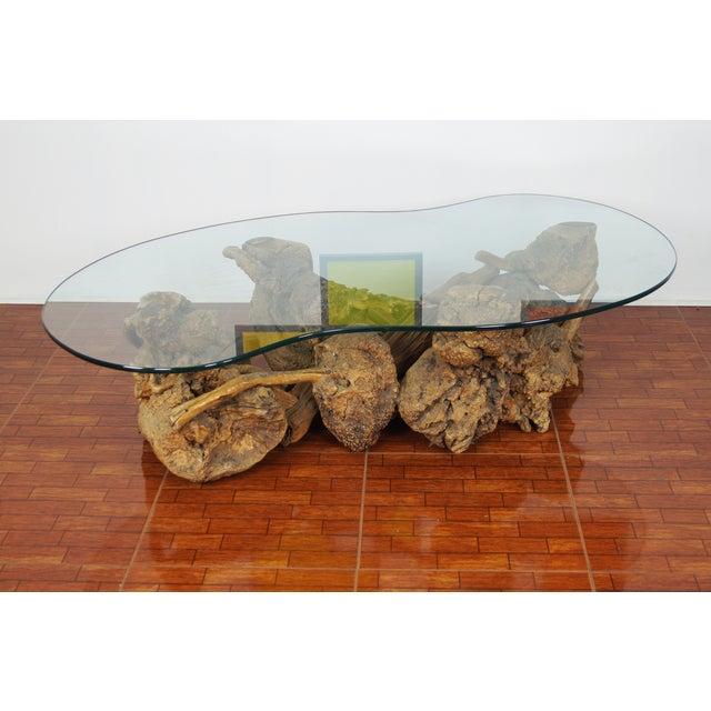 Vintage Burlwood Coffee Table - Image 3 of 6