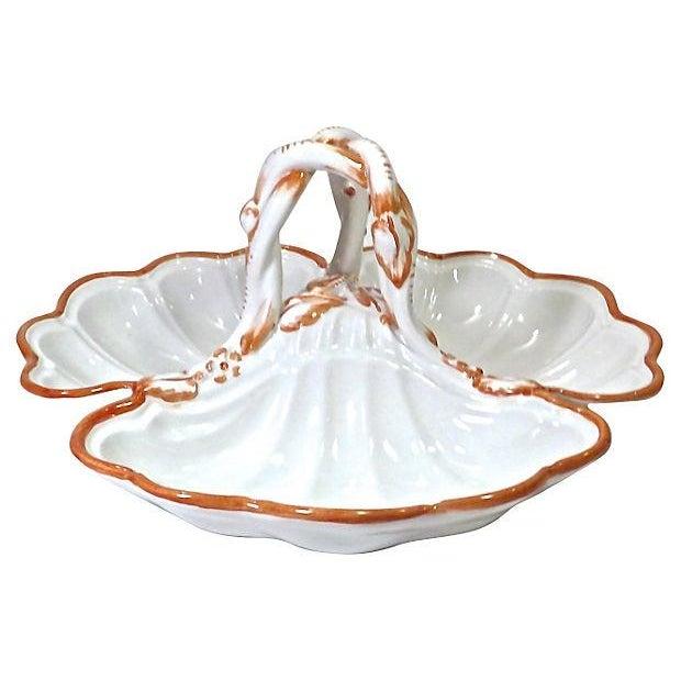 Vintage Mottahedah Shell Serving Dish - Image 2 of 3