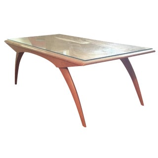 Heywood-Wakefield Saber-Leg Coffee Table