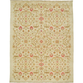Due Process Jinan Ferrahan Cream Area Rug - 8′ × 10′