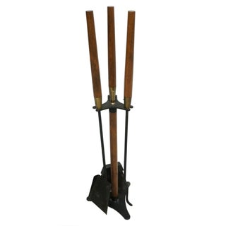 Modernist George Nelson Style Fireplace Tool Set