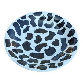 Cow Print Bowl