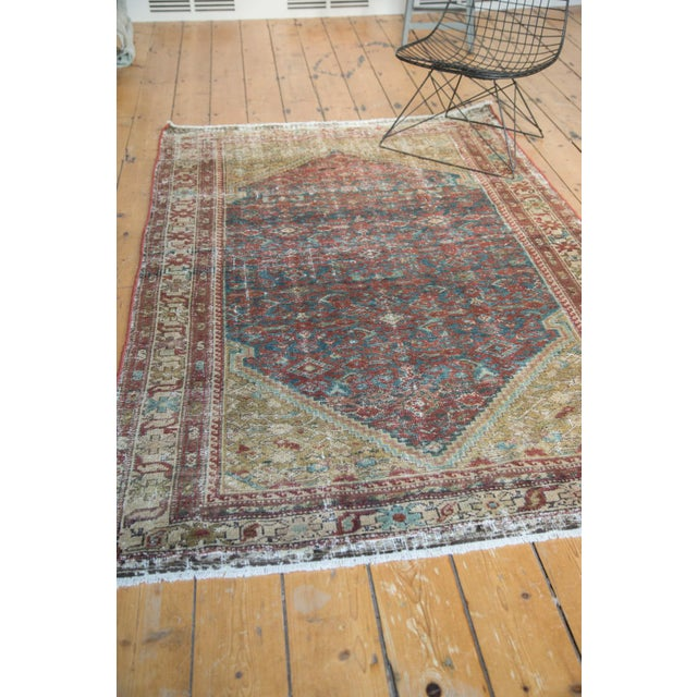 """Antique Malayer Rug - 4'1"""" x 6'7"""" - Image 10 of 10"""