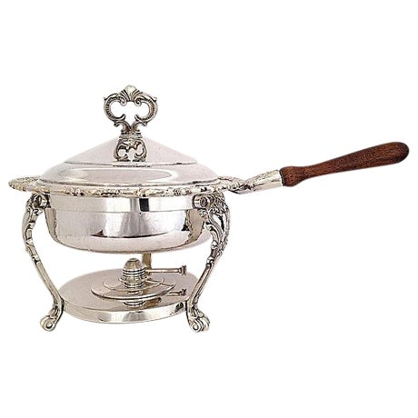 Image of F.B. Rogers Silverplated Chaffing Dish Set