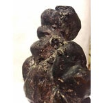 Image of Vintage 1975 Amorphous Cast Bronze Sculpture