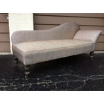 Image of 1940s French Chaise Lounge Daybed