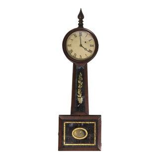 Mahogany Banjo Clock