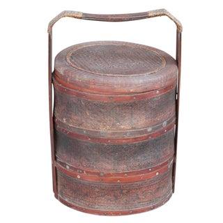 Antique Rataan Wedding Basket II