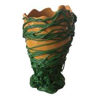 Mustard Green Gaetano Pesce Vase