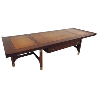 Mid-Century Two-Tone Coffee Table by Weiman