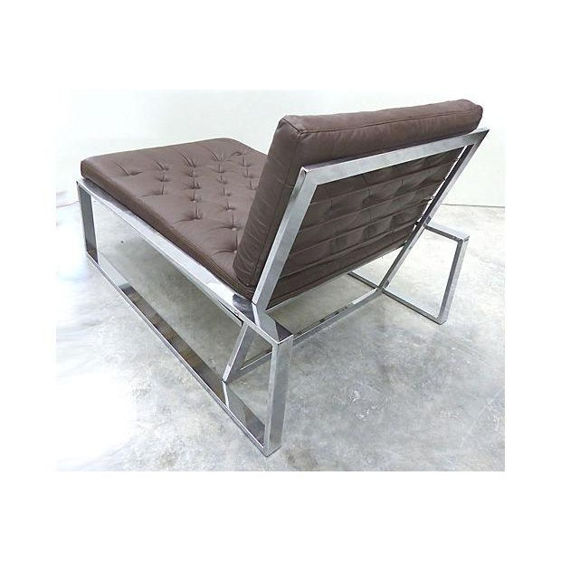 1970's Petite Italian Chaise Lounge - Image 4 of 7